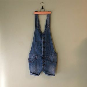 Free People Short Overalls Sz. 27